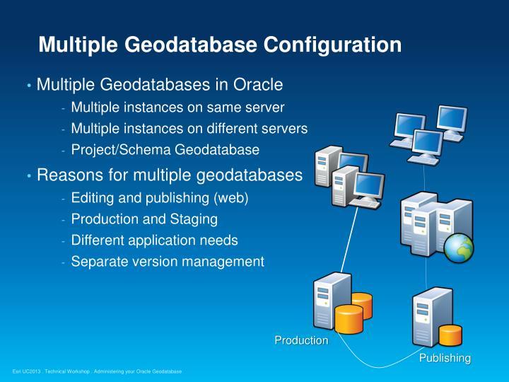 Multiple Geodatabase Configuration