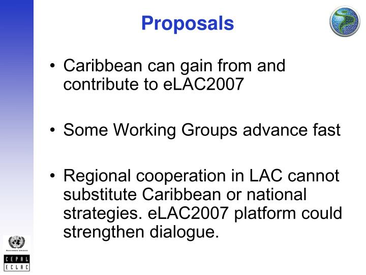 Caribbean can gain from and contribute to eLAC2007
