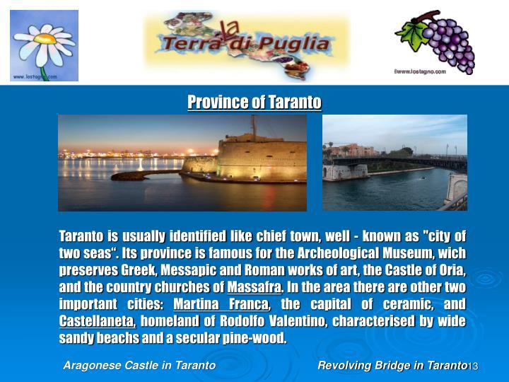 Province of Taranto