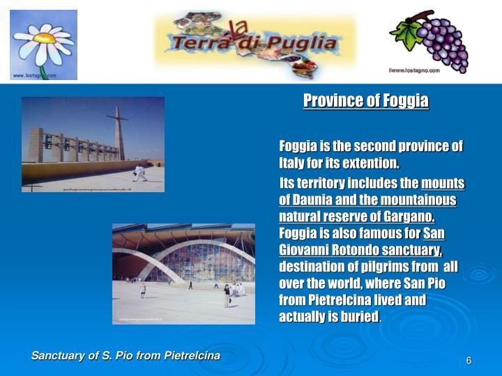 Province of Foggia