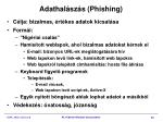 adathal sz s phishing