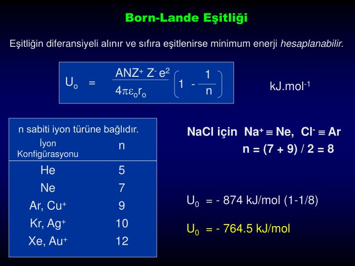Born-Lande E