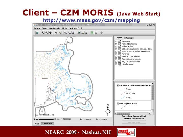 Client – CZM MORIS