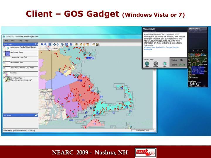 Client – GOS Gadget