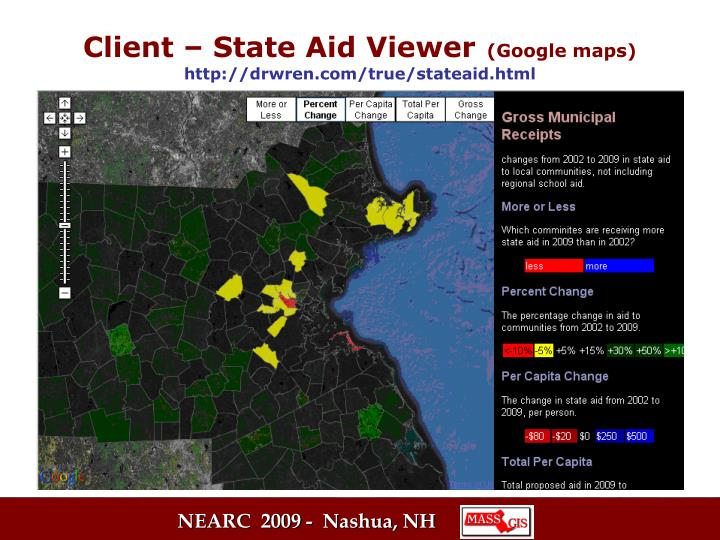 Client – State Aid Viewer