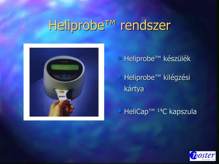 Heliprobe™ rendszer