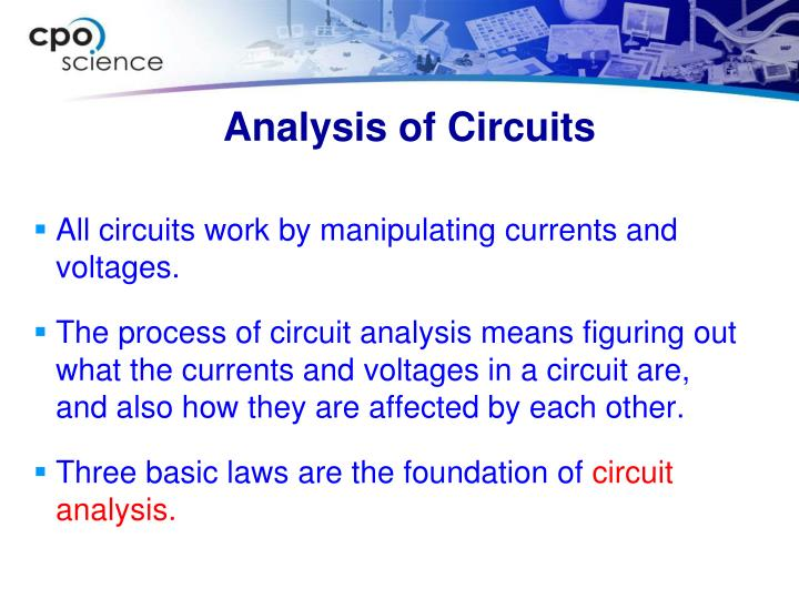 Analysis of Circuits