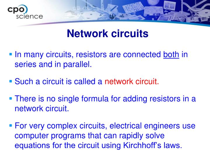 Network circuits