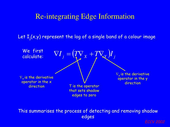 Re-integrating Edge Information