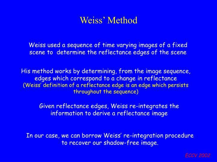 Weiss' Method