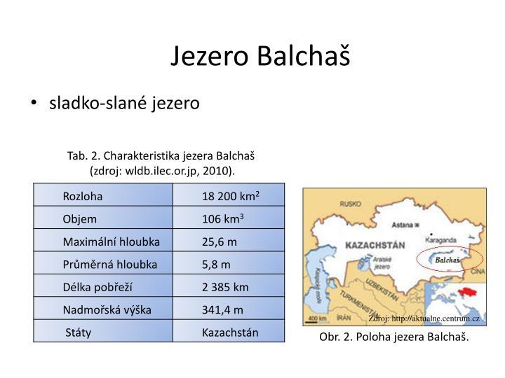 Jezero Balchaš