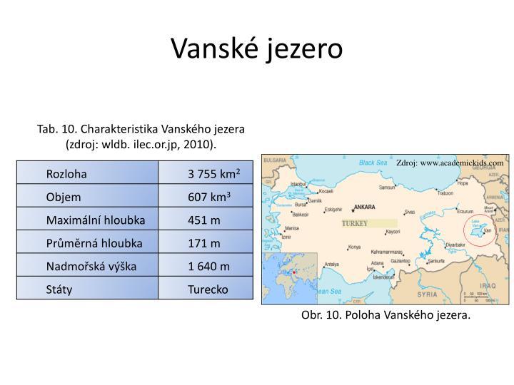 Vanské jezero