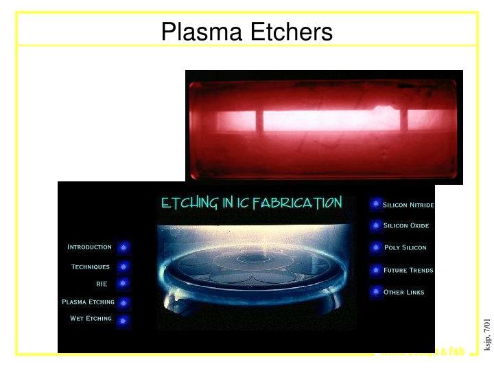 Plasma Etchers