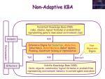 non adaptive kba