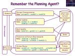 remember the planning agent