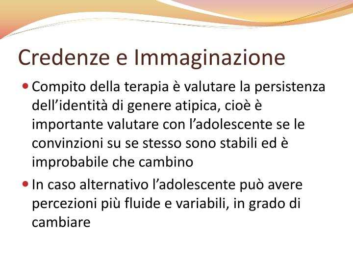 Credenze e Immaginazione