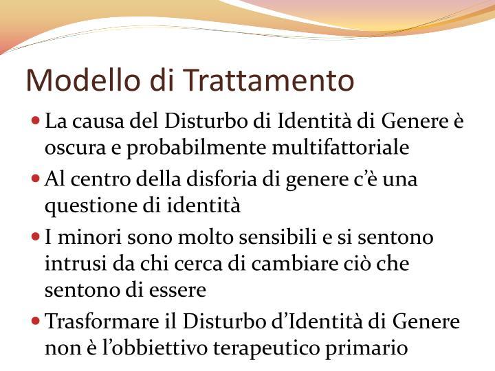Modello di Trattamento