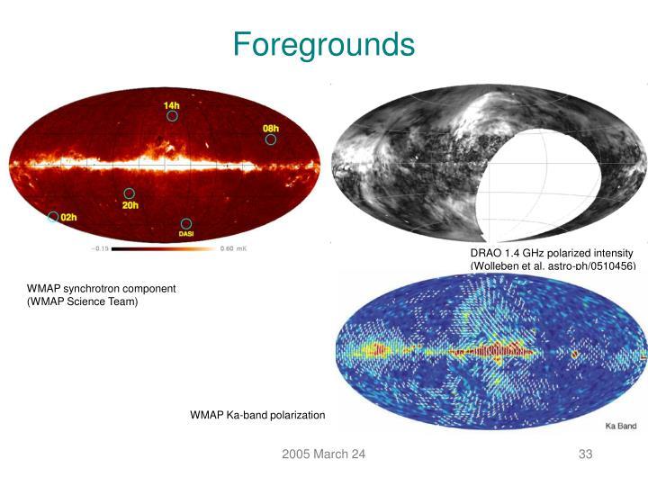 WMAP Ka-band polarization