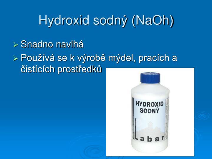Hydroxid sodný (NaOh)