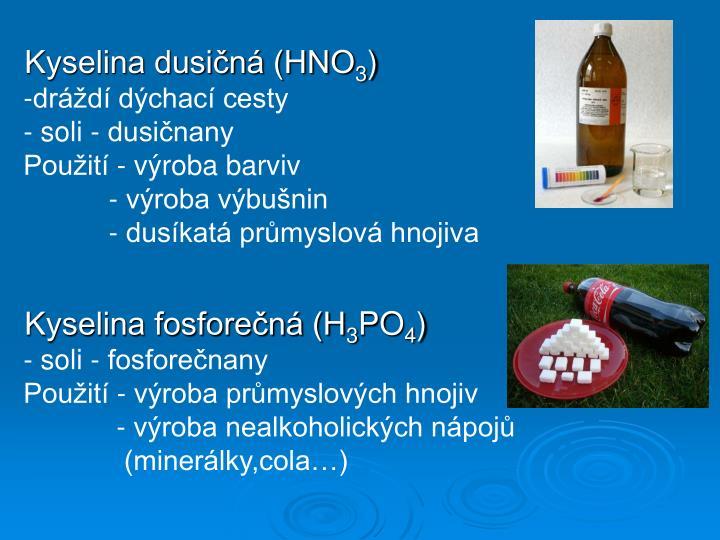Kyselina dusičná (HNO