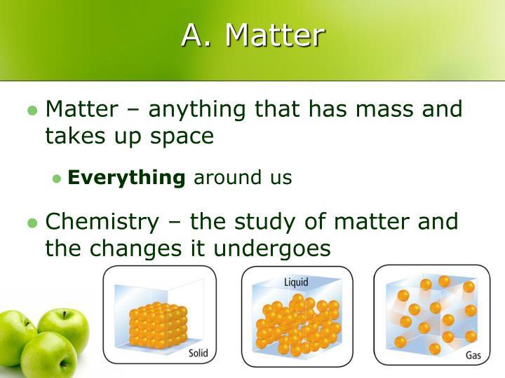 A. Matter
