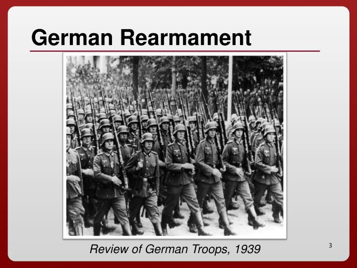 German rearmament