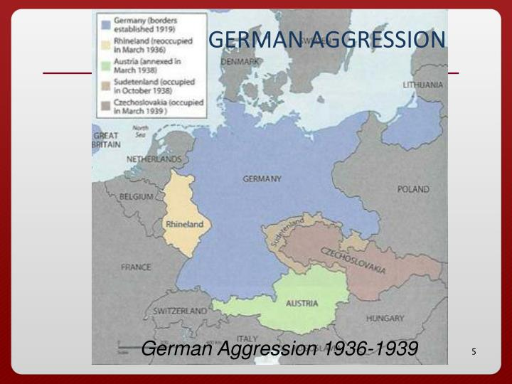 GERMAN AGGRESSION