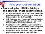 filing your i 765 with uscis