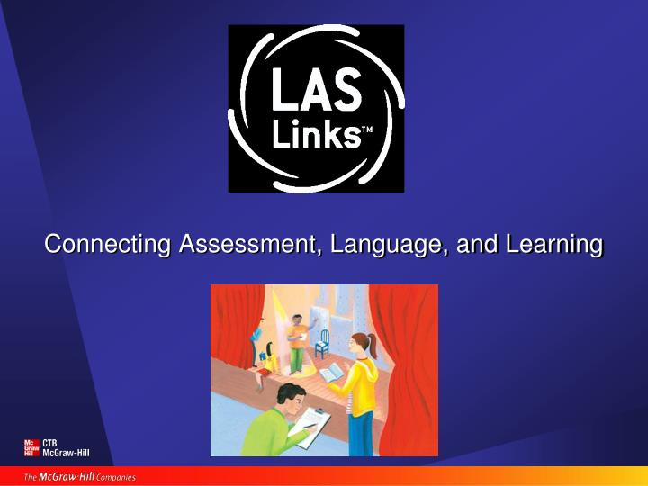 Connecting assessment language and learning