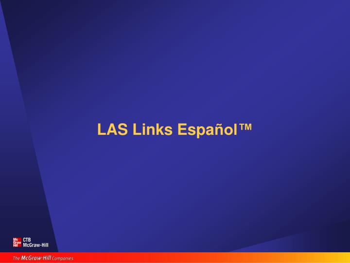 LAS Links Espa