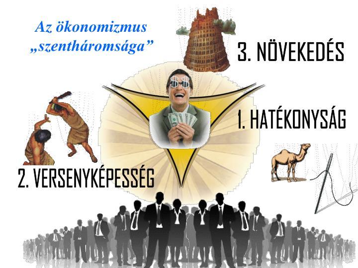 """Az ökonomizmus """"szentháromsága"""