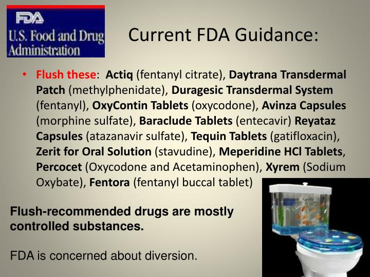 Current FDA Guidance: