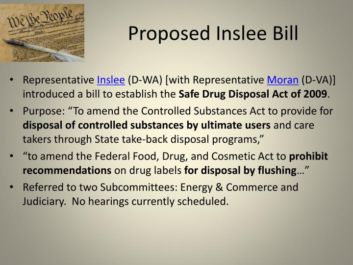 Proposed Inslee Bill