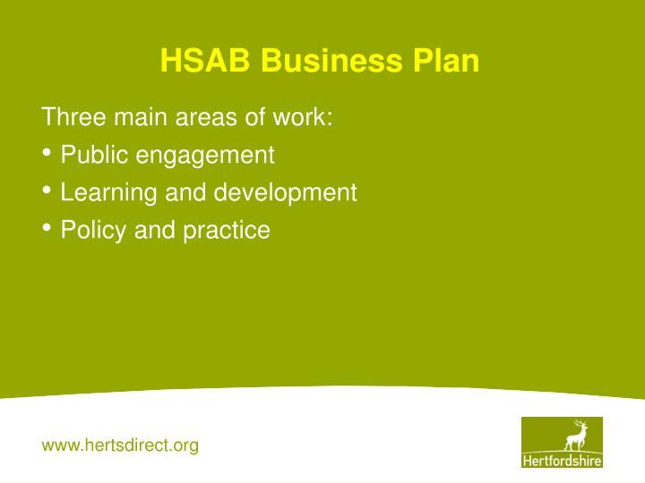 HSAB Business Plan