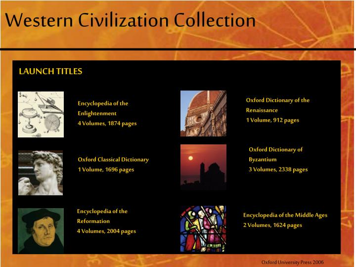 Western Civilization Collection