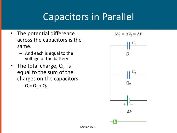 Capacitors in Parallel