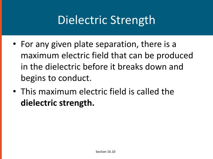 Dielectric Strength