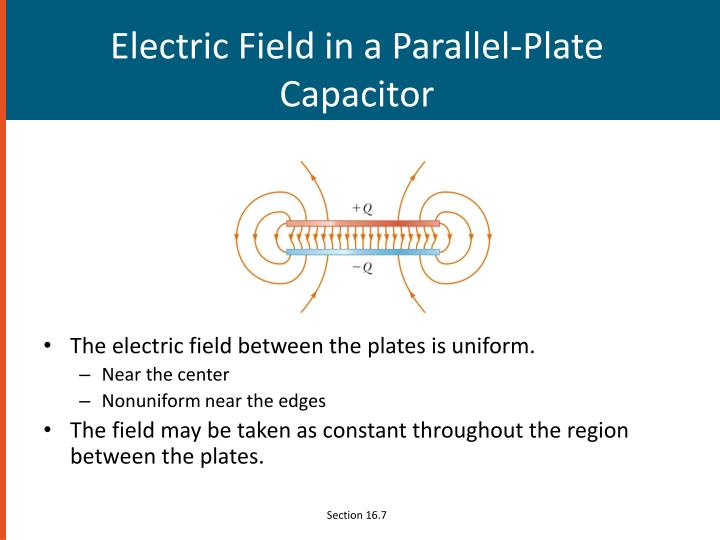 Electric Field in a Parallel-Plate Capacitor