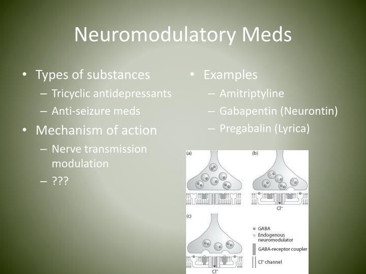 Neuromodulatory