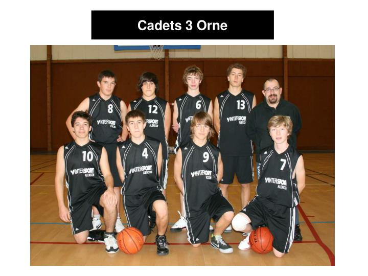 Cadets 3 Orne