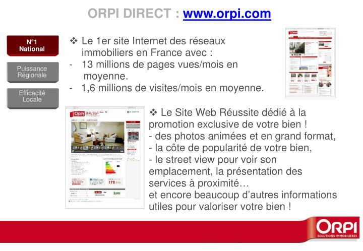 ORPI DIRECT :