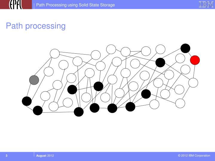 Path processing