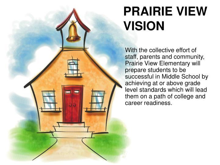 PRAIRIE VIEW VISION