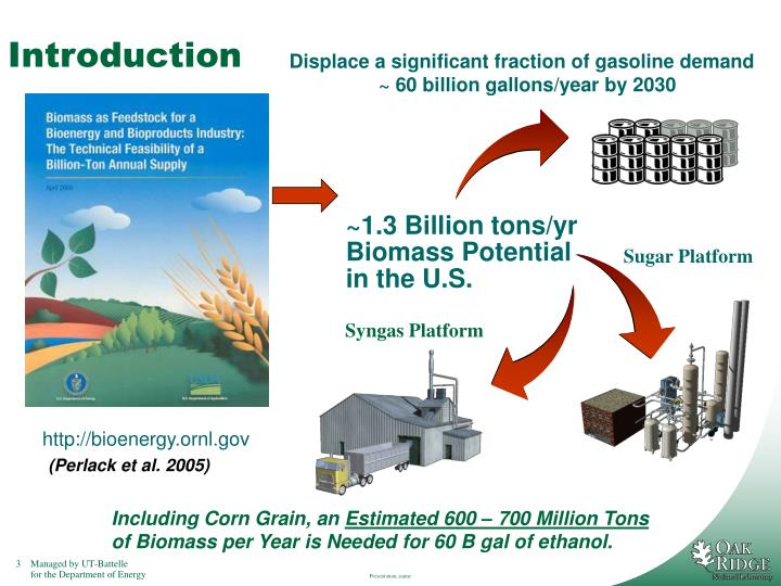 DOE Biorefining Industry  2030 Goals