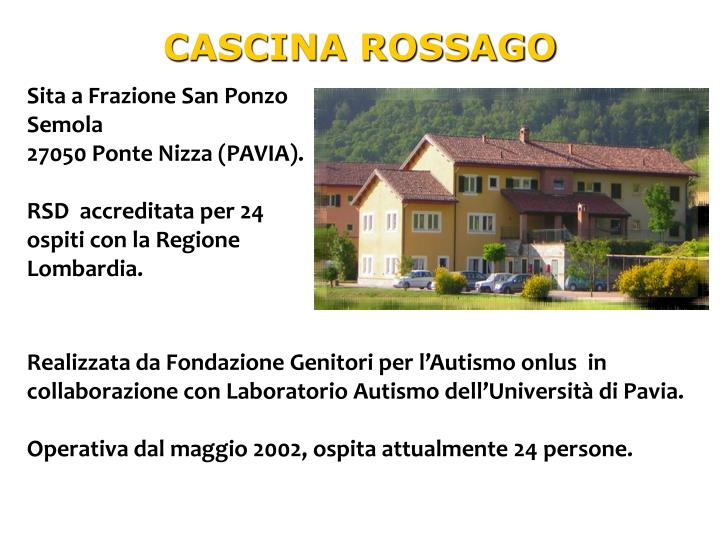 CASCINA ROSSAGO