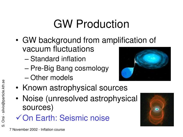 GW Production
