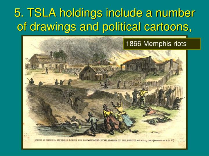 5. TSLA holdings include a number of drawings and political cartoons,