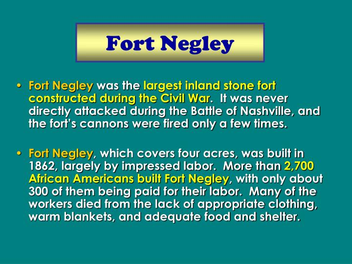 Fort Negley