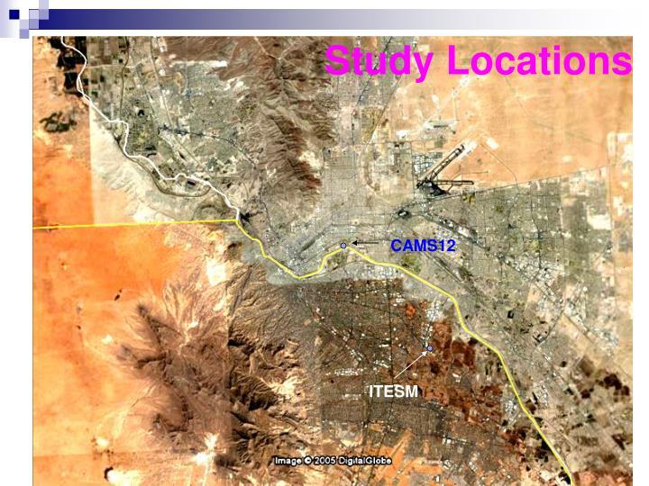 Study Locations