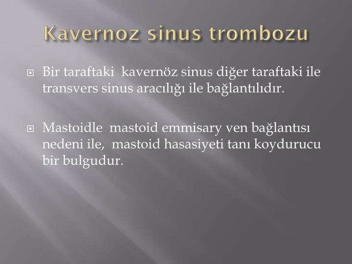 Kavernoz